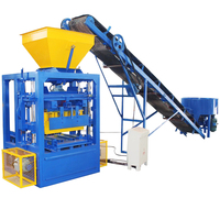 QTJ4-24 concrete block molding machine