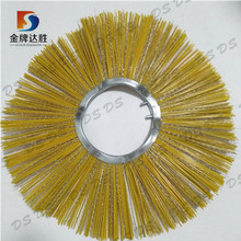 Curving Core Rotary Wafer Road Sweeper Brushes