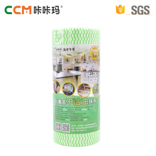 Alibaba china best supplier all purpose disposable spunlace nonwoven fabric household Cleaning Wipe rolls