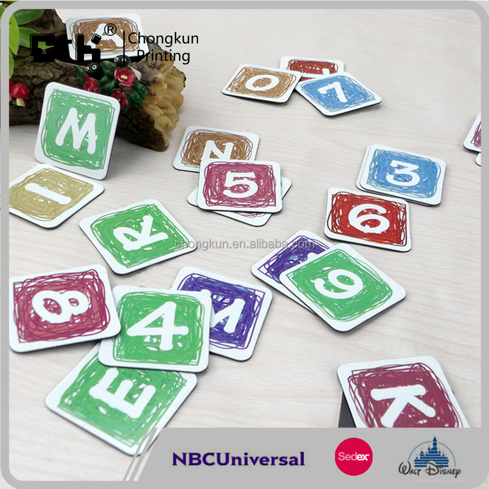 Magnetic Alphabet Letter Number Fridge Magnets
