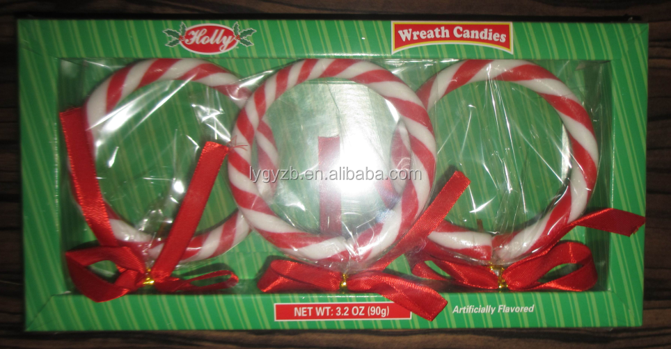 30g Wreath Candies (Artificial color & flavor)