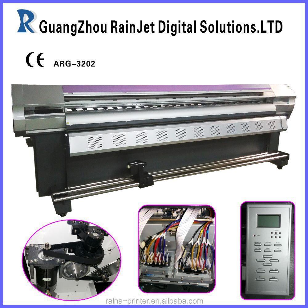 10feet large format tarpaulin printer(can install 1or 2 dx5 or dx7 heads, maintop rip)