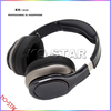 flexible music headphone with durable steel headband and thick and soft ear cushions