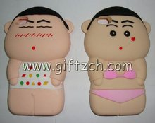 Crayon Shin-chan Silicone cell phone case for iphone4,iphone 4S