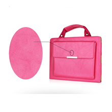 1HD0239 2017 Wholesale New Design Multifunction PU Leather Girls Personal Handbag With Handle For Ipad Pro 9.7