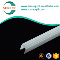 China supplier OEM plastic led tube light diffuser