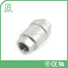 Stainless Steel Hexagonal Female Spring Loaded Check Valve