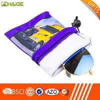 Hot sale logo photo printing microfiber sunglasses pouch