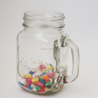 Drinking Mugs Custom Made Embossed Mason Jar Candles