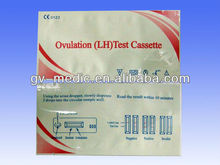 high sensitive ovulation test cassette/card- cassette ovulation test