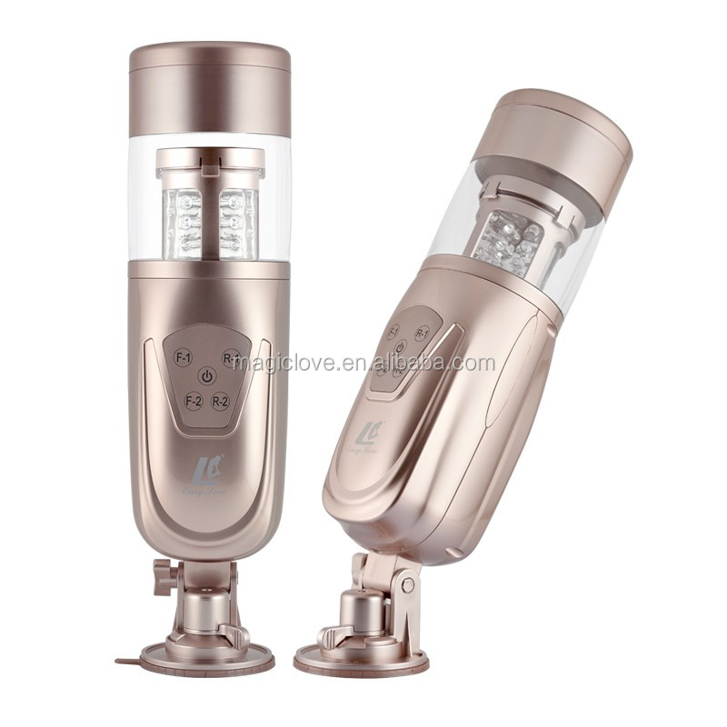 Telescopic Flashing Lover Smart Masturbator Automatic Sex Machine,Rotating and Retractable Electric Male Masturbators