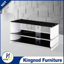 Living room furniture bent MDF high gloss TV-086 wall unit tv cabinet
