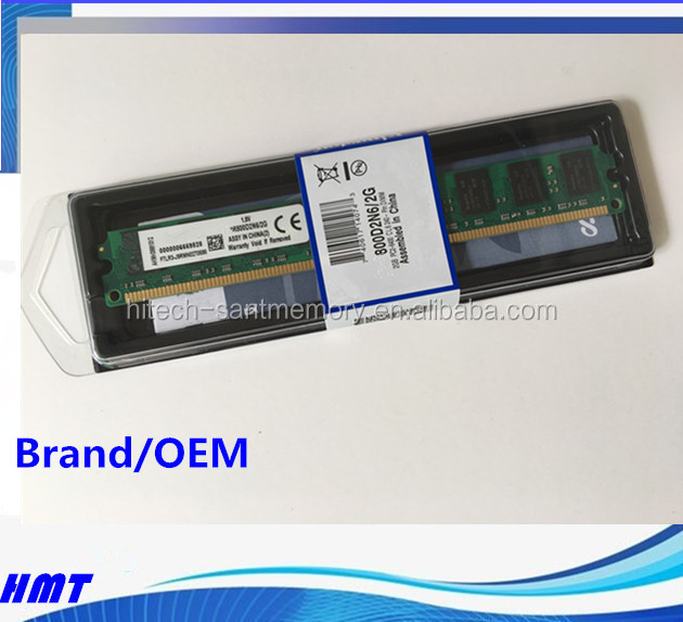 Brand new RAM DDR2 800 667 533 2GB memory For desktop Fully compatible for All Chip motherboardpatible with 667Mhz 800Mhz
