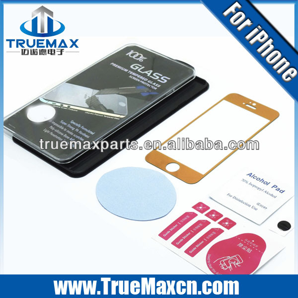 Tempered Glass for iPhone 5 protector, Cheap wholesale for iPhone 5 screen protector