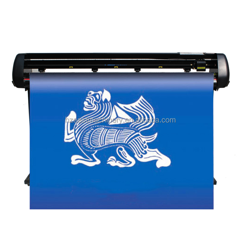 China artcut software BR-1350 usb driver pvc sticker creation pcut cutter plotter