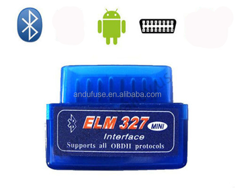 OBD2 OBDII Bluetooth Car Diagnostic Scan Interface Scanner ELM327 B for Android