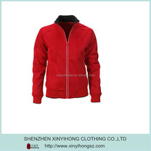 Mens urban sweat shirt polo red fashion jacket