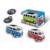 Children factory Promotional toys alloy pull back toy model cars mini metal toy bus with light and music for kids