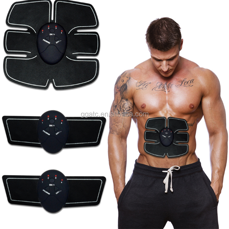 Abdominal muscle training ABS stimulator body trainer exercise device/stimulator muscular for sale with good price