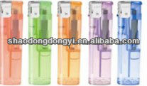 disposable eletronic lighter with transparent color