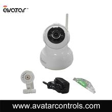 Action camera for smart home security system