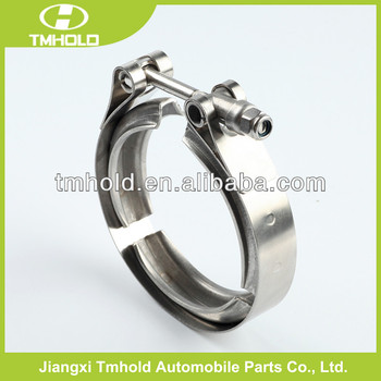 Different sizes T bolt V bands clamp, V band O type pipe clamp