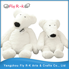 wholesale soft stuffed polar bear white bear plush toy baby accompany doll