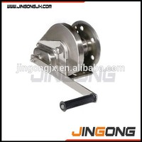 manual mini hand winch in hand winches with brake boat winch