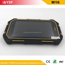 13MP camera 7 inch rugged import tablet pc with dual sim cards slot