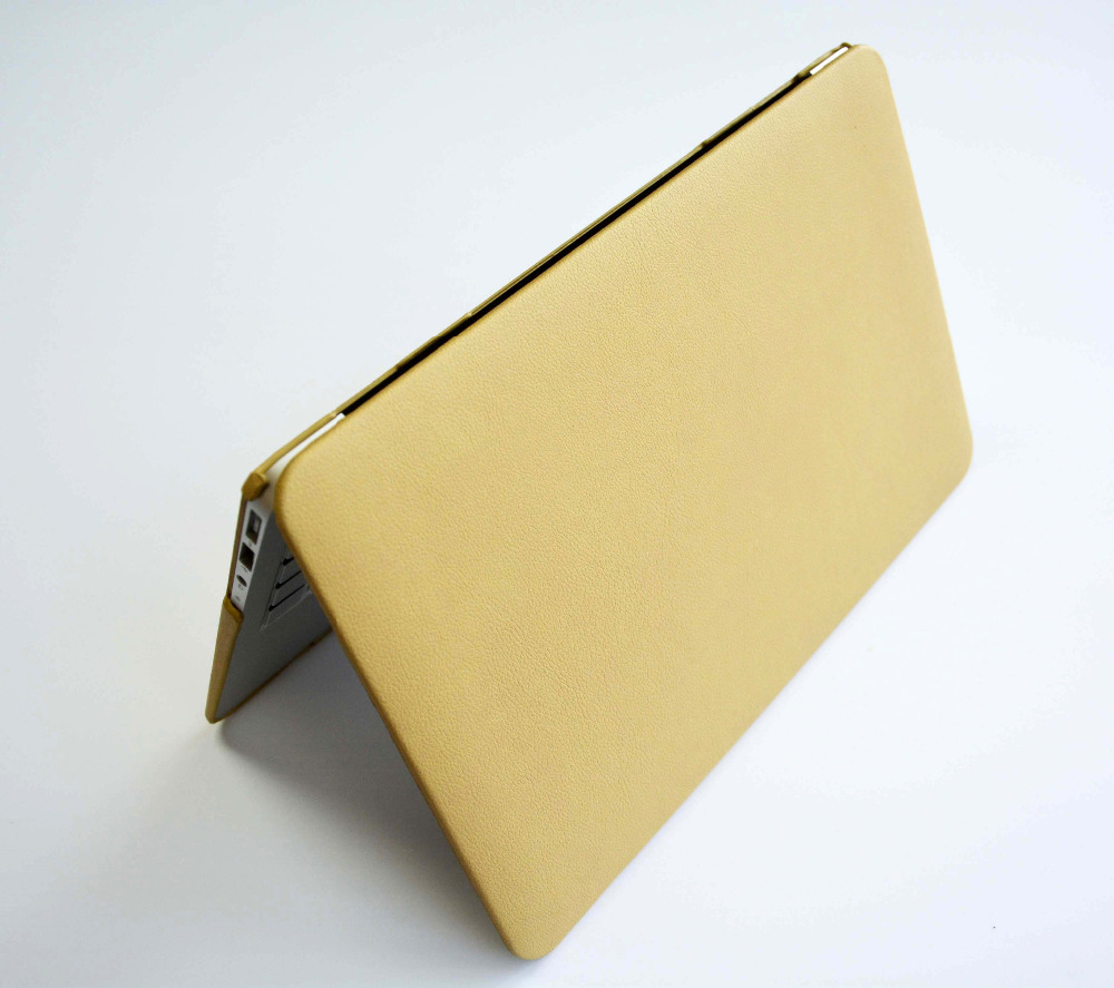 Litchi Leather Case for MacBook 12 Retina A1534, Luxyru PU Leather Case