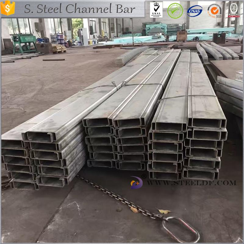 Hot selling 201stainless steel channel bar made in China