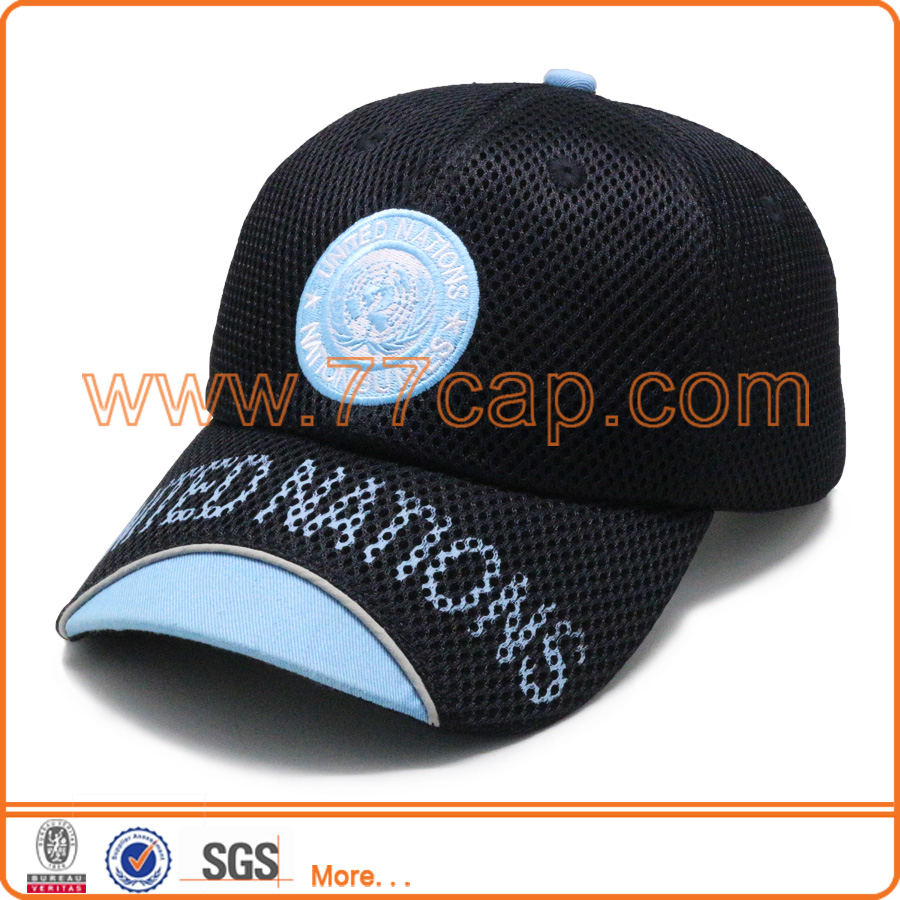 Unique all mesh caps,high quality mesh brand hats mesh running cap