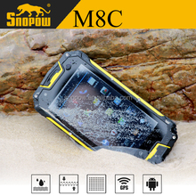 Snopow M8C IP68 waterproof 4.5 inches dual core 1G ram 8G rom runbo x5 waterproof mobile phone