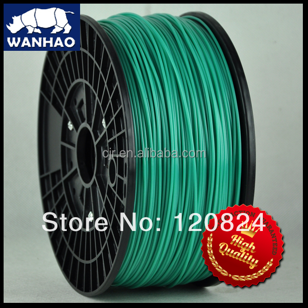 wanhao desktop 3d printer materials, high quality printing flexible material 3d printer filament pla/<strong>abs</strong> 1.75mm/3.00mm