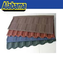 corrugated roofing sheet aluminium zinc steel roofing tile, natural stone chip coated metal roof tiles, zinc coated roof tile