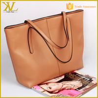 Wholesale Import Material Real Pu Leather Handbag