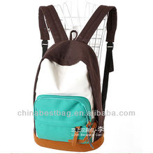 2014 fashion university school bags unique teen backpacks