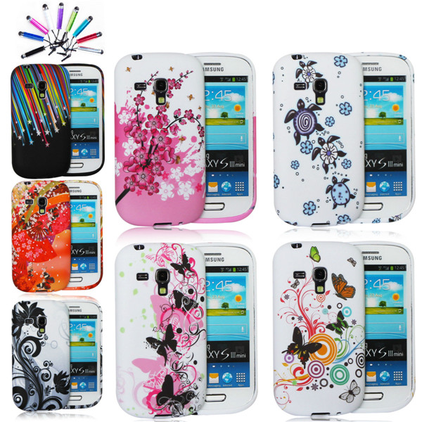 for samsung s3 mini Transparent TPU case, for samsung galaxy s3 mini i8190 case