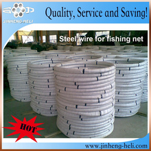 Galvanized stainless steel fishing net wire 1.18 1.06mm