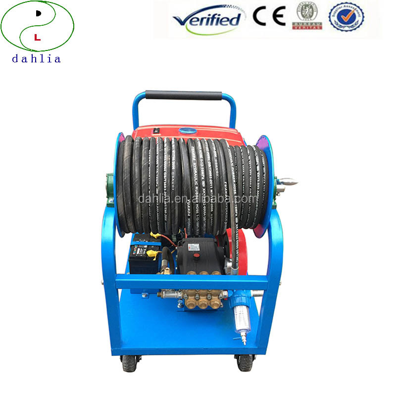 Electric or gasoline Industrial Ultra High Pressure sweeper WaterJetting Washer for Sale