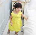 Fashion princes summer sleeveless 100% cotton floral print baby girls kid's Top + Pant Mat China manufacturer