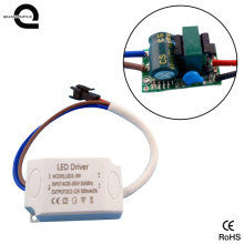 3w led driver constant current ac 220v dc 12v power supply