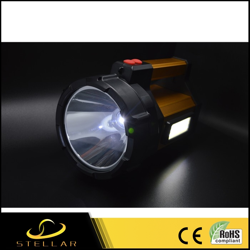 Benefits metal led torch 18650 rechargeable battery