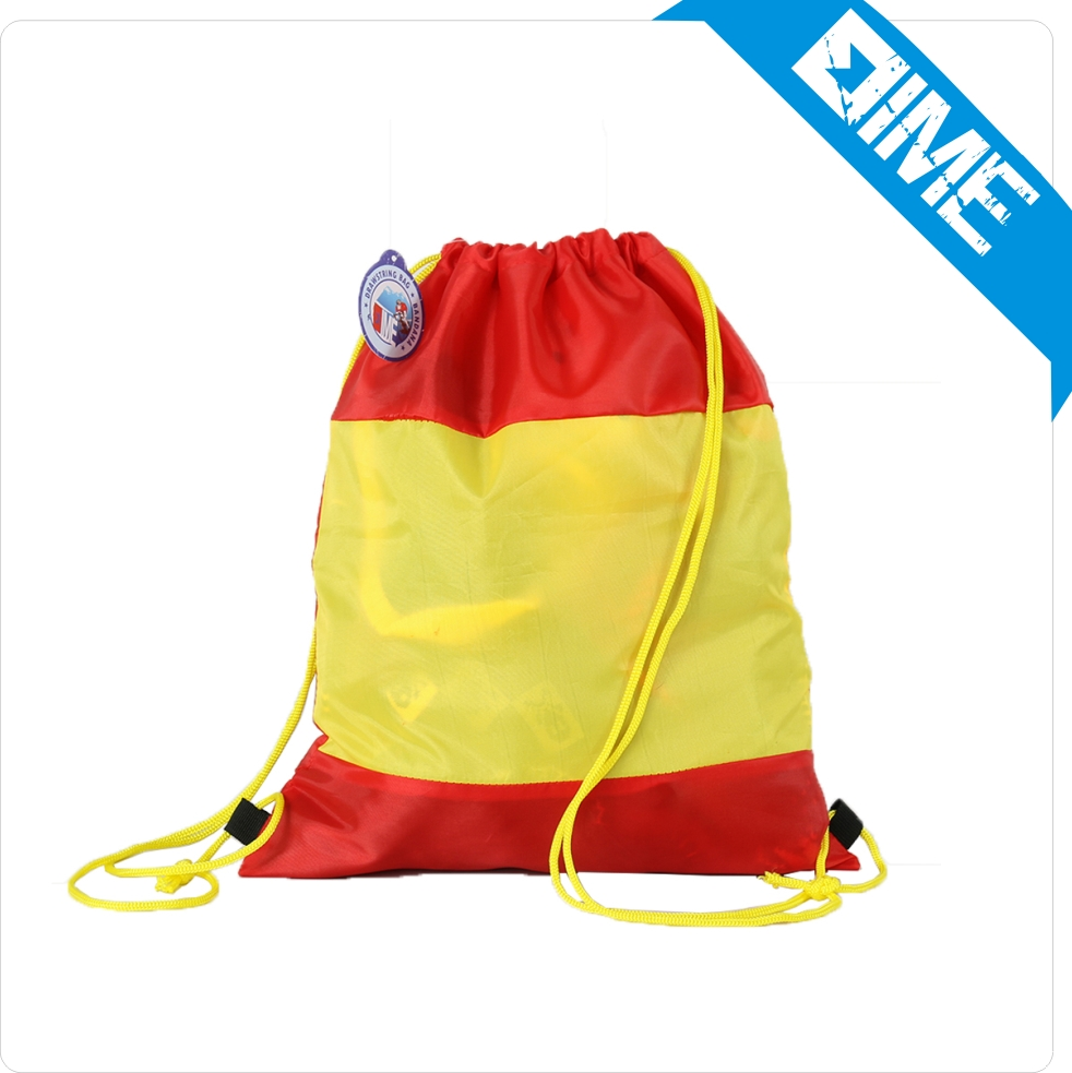 Alibaba China Wholesale Polyster Cheer Teen Cartoon Drawstring Backpack Bag