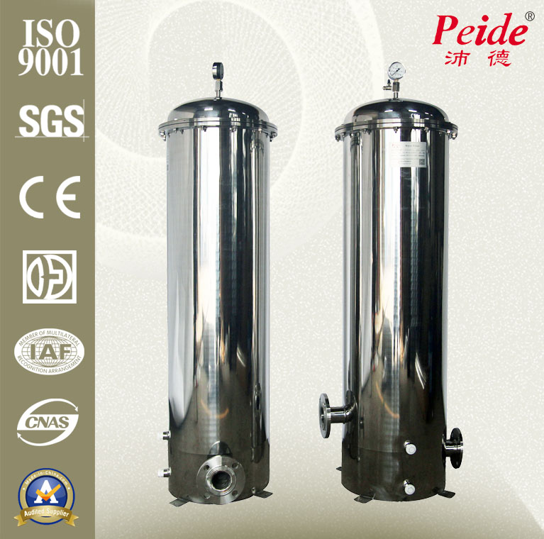 Micron stainless steel Precision cartridge filter housing