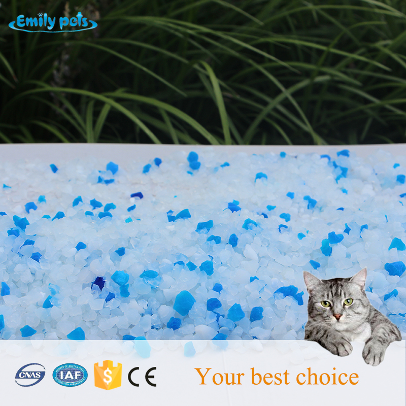 Industrial grade white granules silica gel cat sand