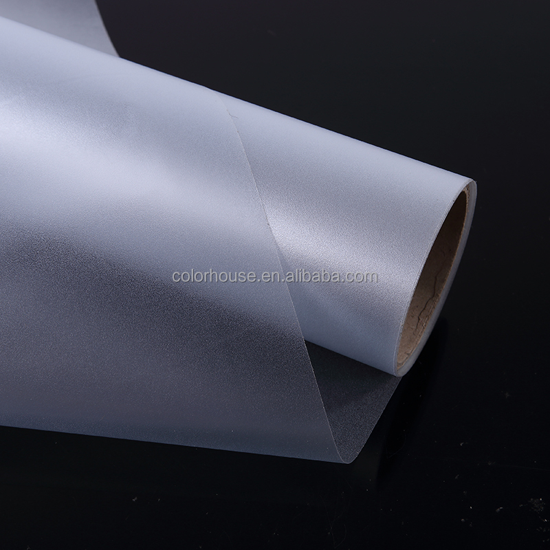 water proof self adhesive decorative pvc frosted glass film for windows