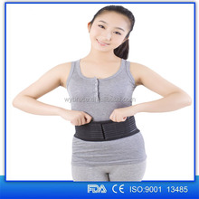 Orthopedic abdominal support belt for men