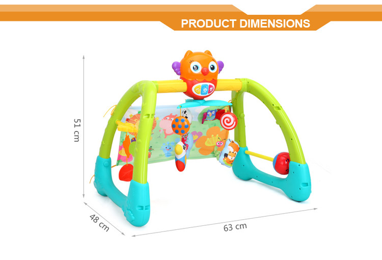 2016 newest 5 in 1 baby activity multi gym fitness equipment
