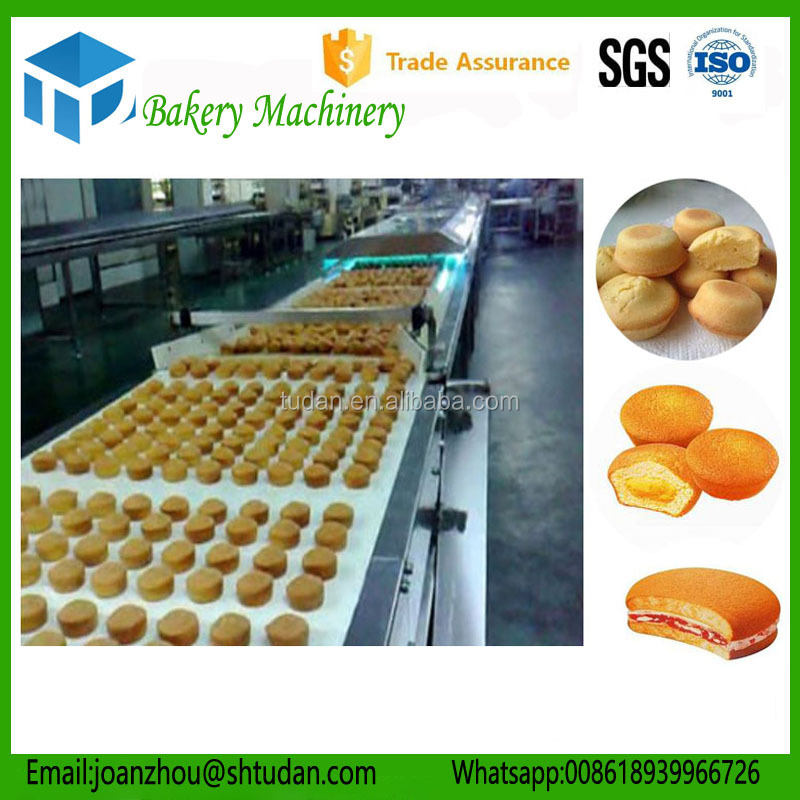 Food industry equipment cake jam grouting machine/cake muffin production machine/pastry production line